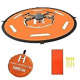 Huhuhero Drone Landing Pad for RC Drones Helicopter DJI Mavic Pro and RC Phantom 2/3/4/4 Pro, 32