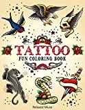 Tattoo Fun Coloring Book