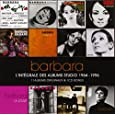 Barbara : L'integrale des albums studio, 1964-1996