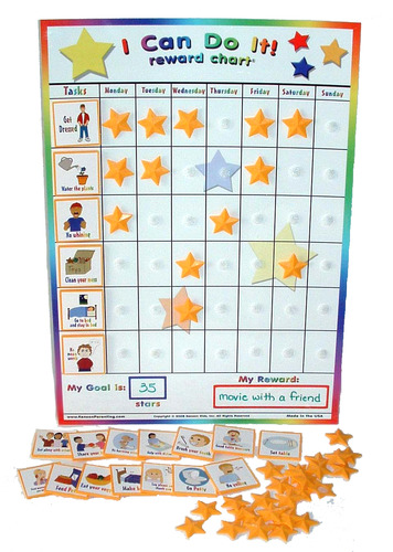 potty training incentive chart
