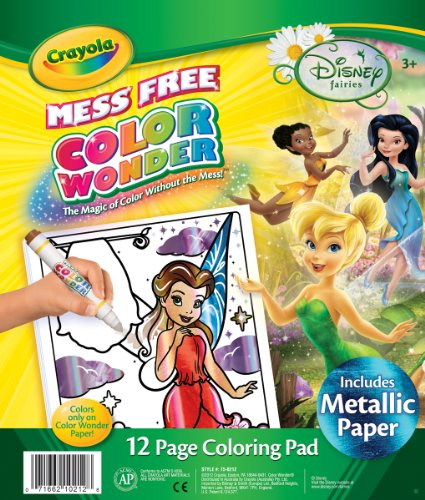Color Wonder Disney Fairies Coloring Pad