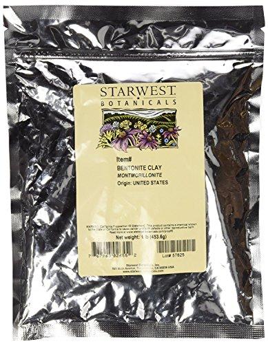 Starwest Botanicals Sodium Bentonite Clay (Food-Grade), 1 Pound (Food Grade Clay compare prices)