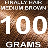 Finally Hair Building Fiber Refill 100 Grams Hair Loss Concealer by Finally Hair (Medium Brown)