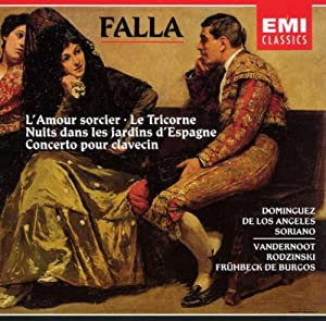 Falla Vocal And Orchestral Works by Rouge et Noir