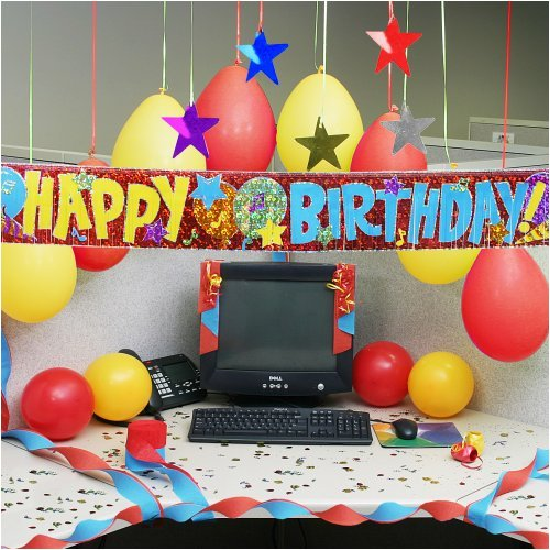Cubicle birthday decorating ideas joy studio design for Decoration kit