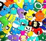 Gogo's Crazy Bones Series 6 SUPERSTAR - (20 Randomly Assorted Gogos) Colors & Styles Will Vary
