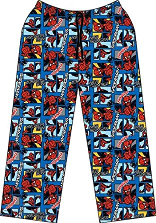 Spiderman Lounge Pants, Boys Marvel Comics lounge Pants, 7-8 years