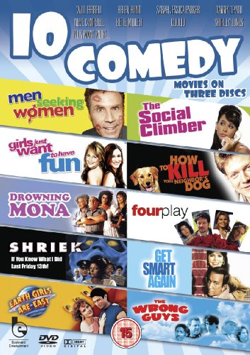 Comedy Pack - 10 Films [DVD]