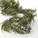 Realistic Vinyl Artificial Pine Garland for Holiday Home Decor - 72
