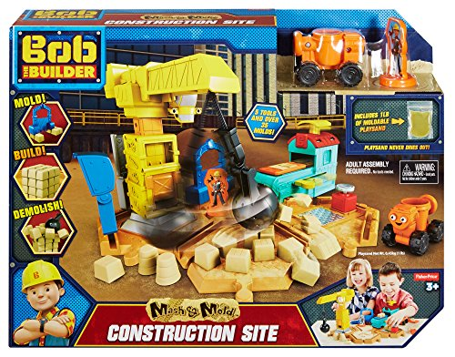 Fisher-Price Bob the Builder Mash & Mold Construction Site JungleDealsBlog.com