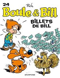 Boule et Bill, tome 21 : Billets de Bill par Roba