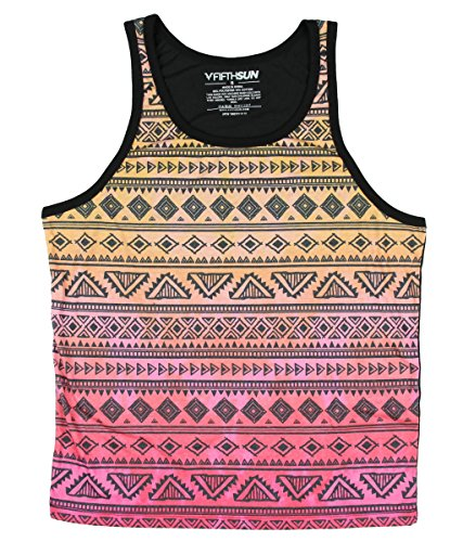 Aztec Tribal Art Patterns Graphic Tank Top - X-Large (Pool Tank compare prices)