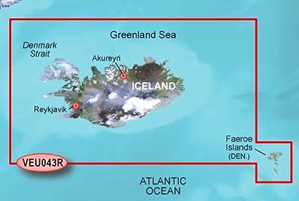 Garmin VEU043R - l'Islande et les -les F-ro- - Carte SD: Amazon.fr ...