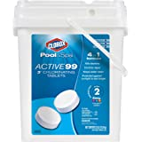 CLOROX Pool&Spa 22035CLXW 22035CLX Chlorinating Tablets, 35-Pound White