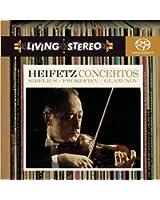 Sibelius - Prokofiev - Glazunov : Concertos pour violon / Jascha Heifetz