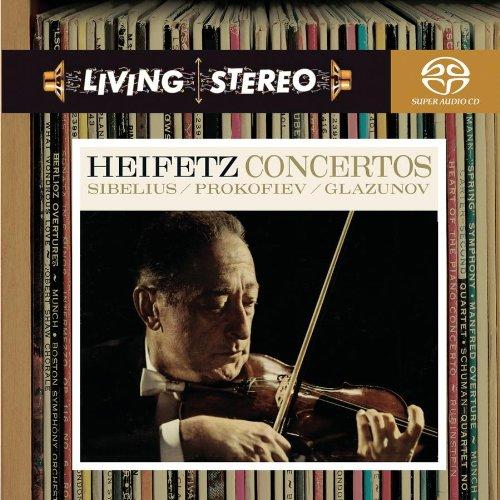 Heifetz / Sibelius / Prokofiev / Glazunov: Concertos