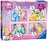 2 X Ravensburger 4-in-1 Disney Princess Beautiful Puzzles