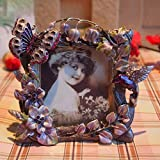 pastorali montature retrò telaio europee figli creativo photo frame cornice carino fiore farfalla