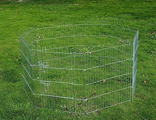 pawhut-recinto-per-cani-gatti-cuccioli-roditori-recinzione-rete-gabbia-8-pezzi-60-x-63-cm