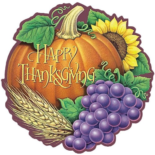 Happy Thanksgiving Heritage Cutout