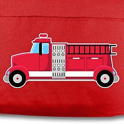 Kinder Rucksack Feuerwehrauto für Schule und Freizeit Sol's Sol's Kids Rucksack Rider 7 Farben 25x30x12 cm