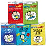 Lincoln Peirce Big Nate Collection 5 Books Set Pack RRP: £28.95 (Big Nate Goes For Broke, Big Nate On a Roll, Big Nate Strikes Again, Big Nate The Boy With The Biggest Head, Big Nate Boredom Buster)