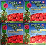 Set of 4! The Original Topsy Turvy Upside Down Tomato Planter