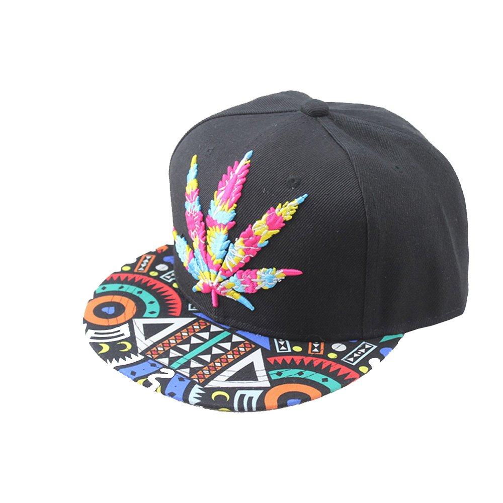 Hip hop Marijuana Logo Baseball Caps by QYT