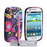 Samsung Galaxy S3 Mini Case Galaxy S3 Mini Jellyfish Silicone Cover With Stylus Pen
