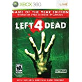 Left 4 Dead - Game of the Year Edition -Xbox 360 ~ Electronic Arts
