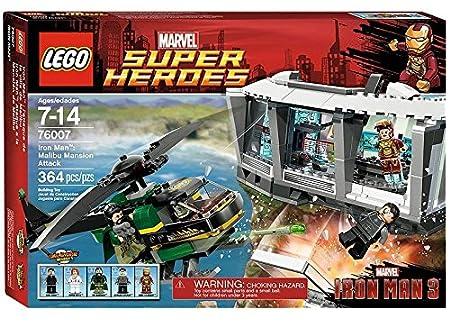 Lego Super Heroes - Marvel - 76007 - Iron Man 3 - Iron Man : l'Attaque de la Villa de Malibu