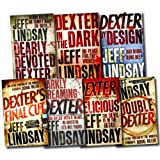 Jeff Lindsay Dexter Series Novel Collection 7 Books Set (Dexter's Final Cut, Double Dexter, Dexter is Delicious, Dexter by Design, Dexter in the dark, Dearly devoted Dexter, Darkly Dreaming Dexter)