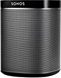 Sonos PLAY:1 I Kompakter Multiroom Smart Speaker für Wireless Music Streaming (schwarz)