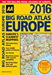 AA Big Road Atlas Europe 2016 (Road A...