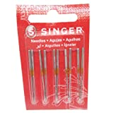 HONEYSEW 2054-42 70/10 75/11 Singer Needles for Singer 14U Serger/Overlock Machine10pcs/Pack 2options (Size 75/11) (Tamaño: SIZE 75/11)