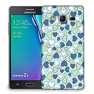 Snoogg Crystals colourful Designer Protective Back Case Cover For Samsung Galaxy Tizen T3