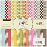 """Sn@p! Color Vibe Collection Paper Pad 6""""X6"""" 36 Sheets-"""