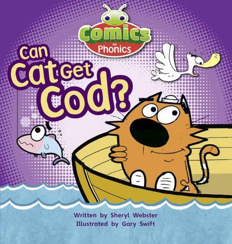 Comics for Phonics: Set 04 Pink B: Can Cat Get Cod? (Bug Club)
