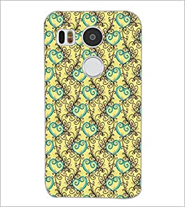 PrintDhaba Pattern D-5328 Back Case Cover for LG NEXUS 5X (Multi-Coloured)