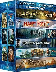 Découvrez la puissance du Blu-ray 3D - 6 films