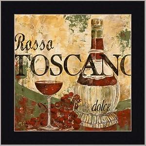 Wine tuscan italian dining room decor art for Framed artwork for dining room