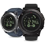 Liu Nian Zeblaze Vibe 3 Smart Sport Watch Waterproof Alarm Mate CameraRate Monitor Fitness Tracker Bluetooth 4.0 Waterproof Smartwatch for iOS for Android (Black) (Color: Black)
