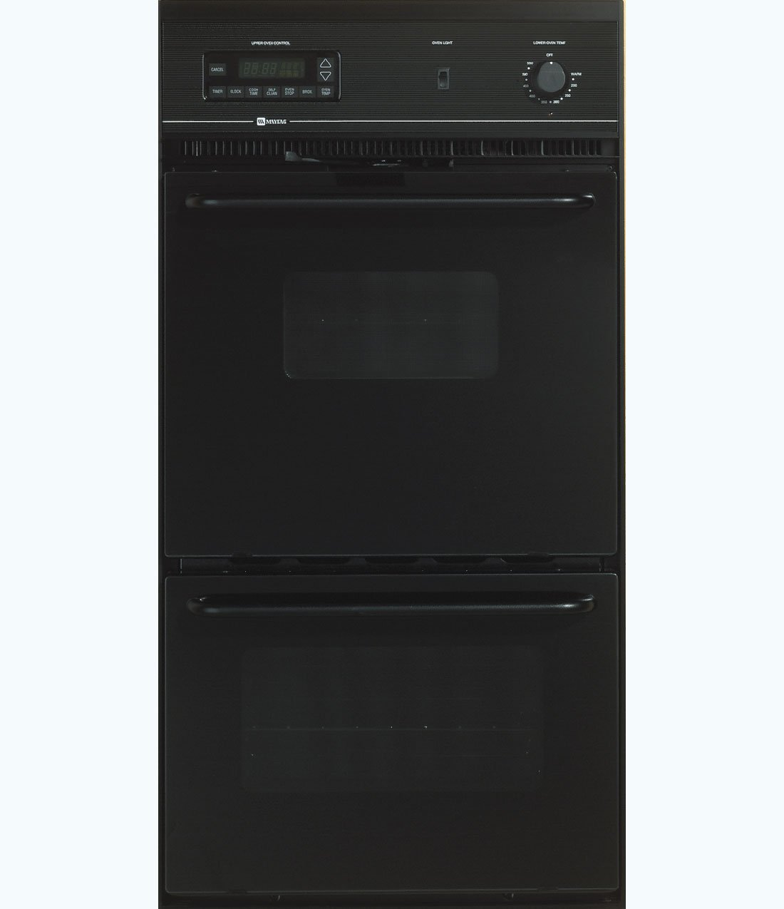 Maytag CWE5800ACB 24 Black Electric Double Wall Oven