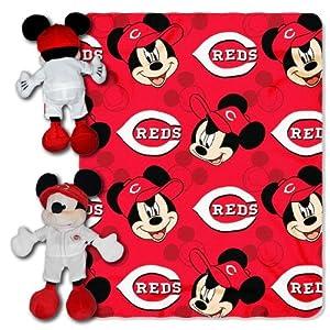MLB Cincinnati Reds Disney Mickey Mouse Hugger by Northwest