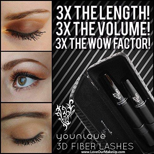 Lot of 2 Younique Moodstruck 3d Fiber Lash Mascara Black Sealed ...