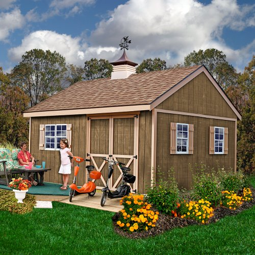 Best-Barns-New-Castle-12-X-16-Wood-Shed-Kit