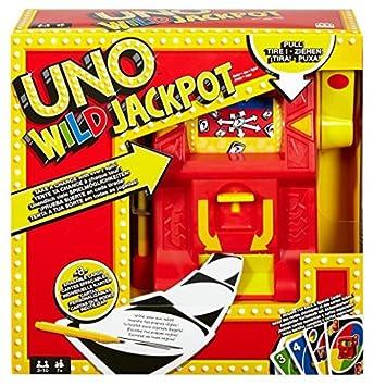 Mattel UNO Jackpot Wild Jeu de cartes Jeux Dng26par Mattel