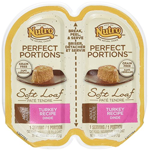 Nutro Perfect Portions Adult Soft Loaf Turkey Recipe