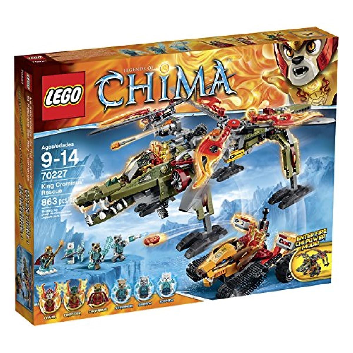 [해외] LEGO LEGENDS OF CHIMA 70227 KING CROMINUS' RESCUE BUILDING KIT-6099912