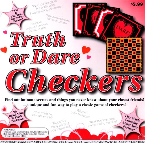 Truth or Dare Checkers Sex Game